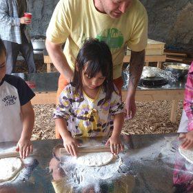 石窯ピザ作り体験記